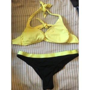 Victoria's Secret Swim - Victoria's Secret Neon Yellow Swimsuit